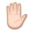 Raised Hand on LG G3