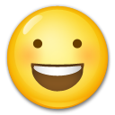 Smiling Face With Open Mouth on LG G3