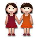 Two Women Holding Hands on LG G3