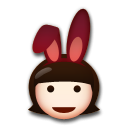 People With Bunny Ears Partying on LG G3