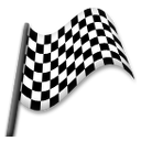 Chequered Flag on LG G5