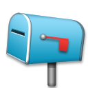 Closed Mailbox With Lowered Flag on LG G5
