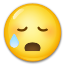 Disappointed but Relieved Face on LG G5