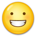 Grinning Face on LG G5