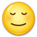 Relieved Face on LG G5