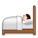 Person in Bed on LG G5