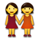 Two Women Holding Hands on LG G5