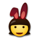 People With Bunny Ears Partying on LG G5