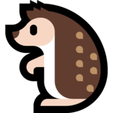 Hedgehog on Microsoft Windows 10 Fall Creators Update