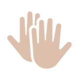 Clapping Hands on Microsoft Windows 8.1