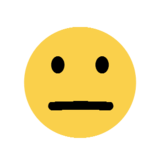 Expressionless Face on Microsoft Windows 8.1