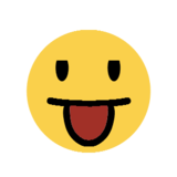 Face With Stuck-Out Tongue on Microsoft Windows 8.1