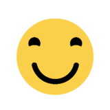 Smiling Face With Smiling Eyes on Microsoft Windows 8.1