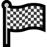 Chequered Flag on Microsoft Windows 10 Anniversary Update
