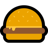 Hamburger on Microsoft Windows 10 Anniversary Update