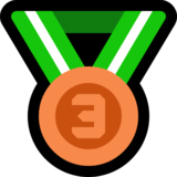 3rd Place Medal on Microsoft Windows 10 Anniversary Update