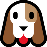 Dog Face on Microsoft Windows 10 Creators Update