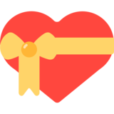 Heart With Ribbon on Mozilla Firefox OS 2.5