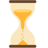 Hourglass With Flowing Sand on Mozilla Firefox OS 2.5