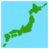 Map of Japan on Mozilla Firefox OS 2.5