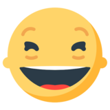 Smiling Face With Open Mouth & Closed Eyes on Mozilla Firefox OS 2.5
