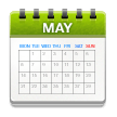 Calendar on Samsung Galaxy S8 (April 2017)