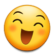 Grinning Face With Smiling Eyes on Samsung Experience 8.5 (Galaxy Note S8)