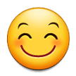 Smiling Face With Smiling Eyes on Samsung Experience 8.5
