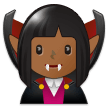 Woman Vampire: Medium-Dark Skin Tone on Samsung Experience 9.1