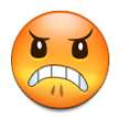 Angry Face on Samsung Galaxy S4
