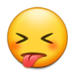 Face With Stuck-Out Tongue & Closed Eyes on Samsung Galaxy S4