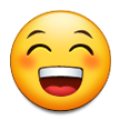 Grinning Face With Smiling Eyes on Samsung Galaxy S4