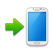 Mobile Phone With Arrow on Samsung Galaxy S4