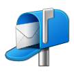 Open Mailbox With Raised Flag on Samsung Galaxy S4