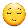 Relieved Face on Samsung Galaxy S4