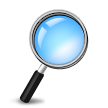 Right-Pointing Magnifying Glass on Samsung Galaxy S4