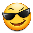 Smiling Face With Sunglasses on Samsung TouchWiz Nature UX 2 (Galaxy S4)