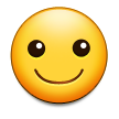 Smiling Face on Samsung Galaxy S4