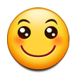 Slightly Smiling Face on Samsung Galaxy S5