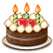 Birthday Cake on Samsung Touchwiz 6.0