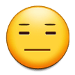 Expressionless Face on Samsung Galaxy Note 7