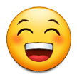 Grinning Face With Smiling Eyes on Samsung Galaxy Note 7