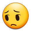 Pensive Face on Samsung Galaxy Note 7