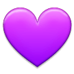 Purple Heart on Samsung TouchWiz 7.0