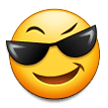 Smiling Face With Sunglasses on Samsung TouchWiz 7.0