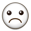 Frowning Face on Samsung Galaxy Note 7