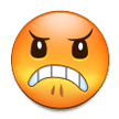 Angry Face on Samsung Galaxy Note 7 (September 2016)