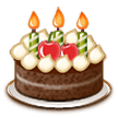 Birthday Cake on Samsung TouchWiz 7.1