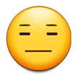 Expressionless Face on Samsung Galaxy Note 7 (September 2016)