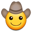 Cowboy Hat Face on Samsung Galaxy Note 7 (September 2016)